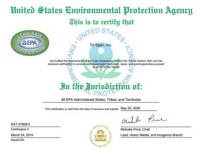 US Environmental Protection Agency EPA
