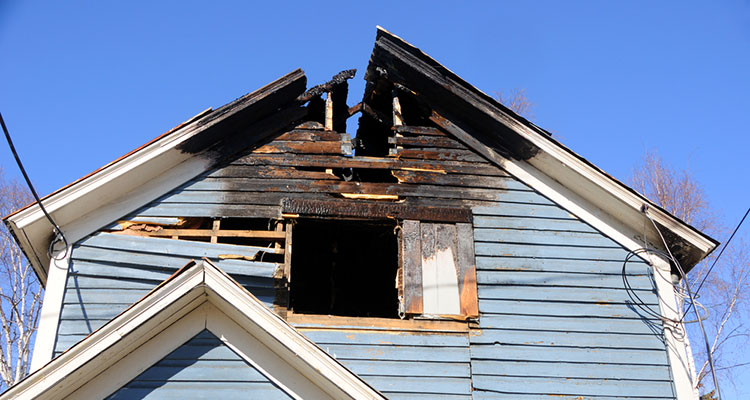 Tri Span Cleans Up Debris After Devastating Home Fires